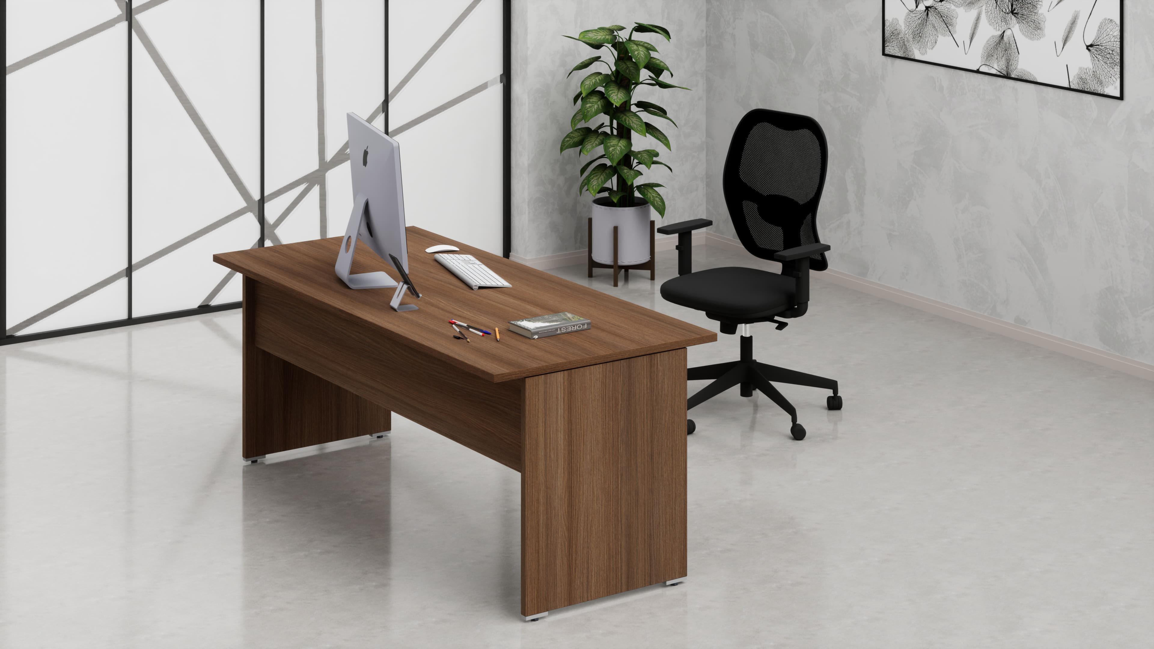 Sf010 scrivanie operative ufficio da 70 06 fumustore for Mobili per ufficio online