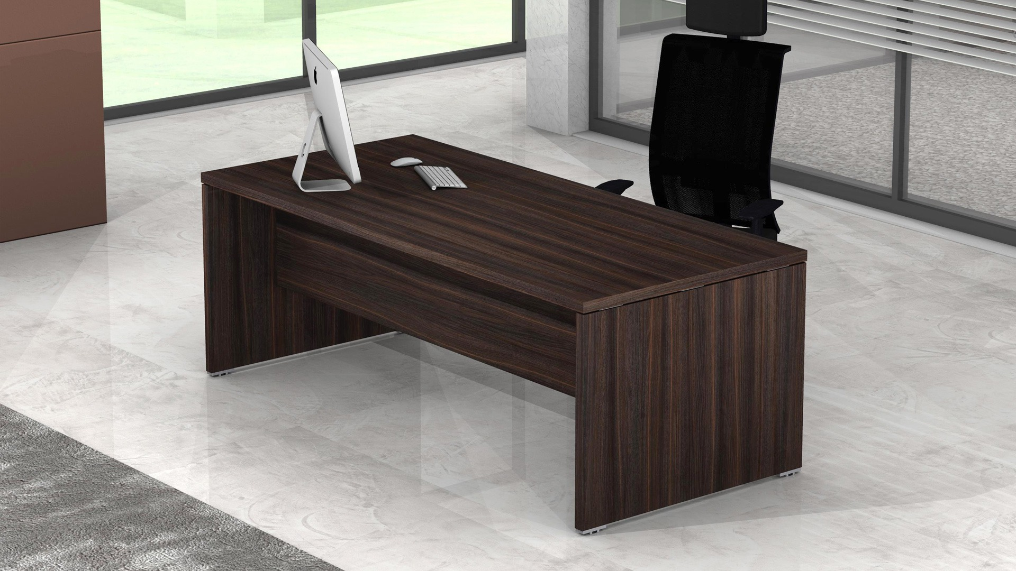 Sc011 scrivanie direzionali ufficio da 210 18 fumustore for Scrivanie direzionali ufficio