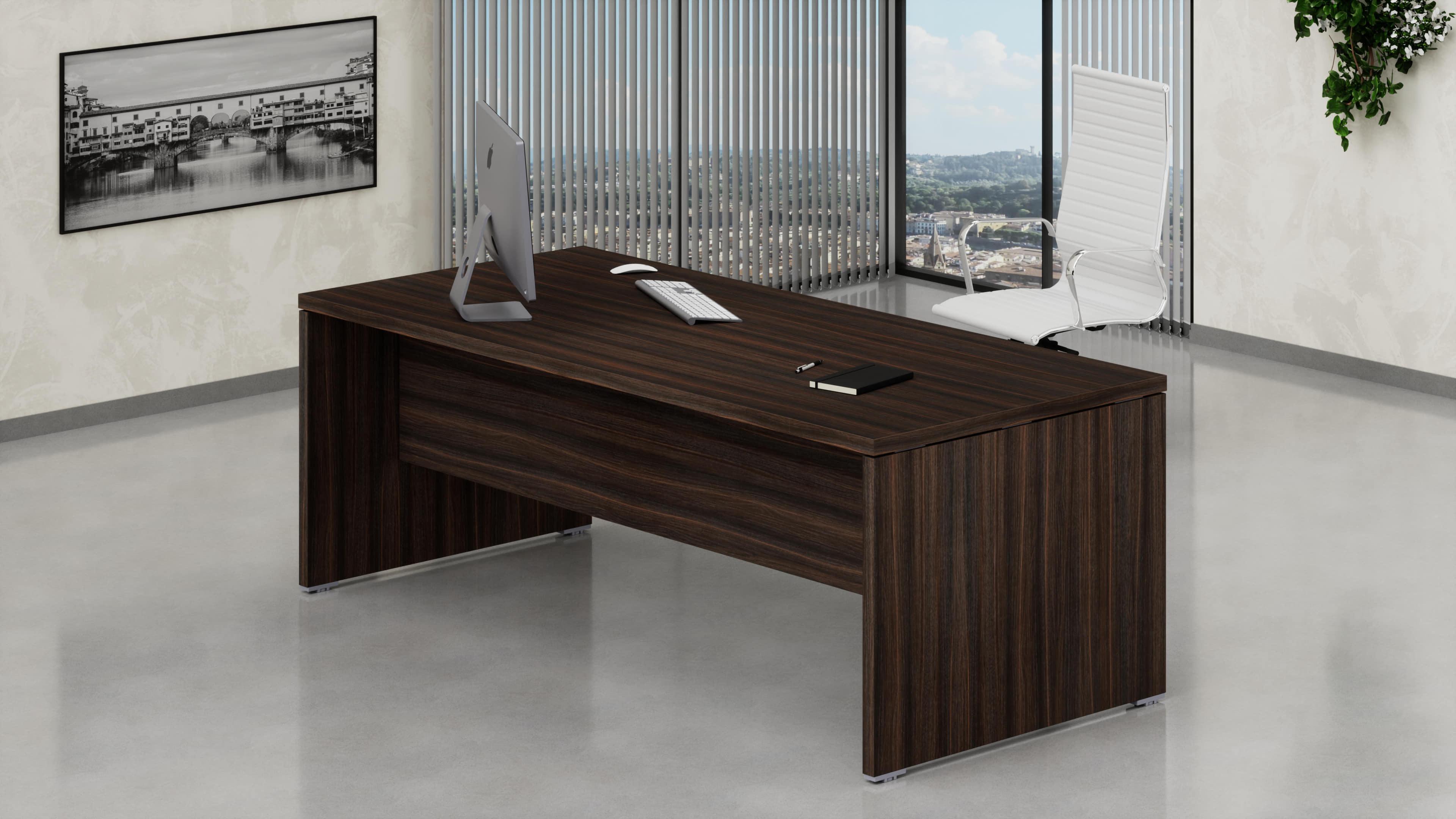 Scrivania legno per ufficio direzionale