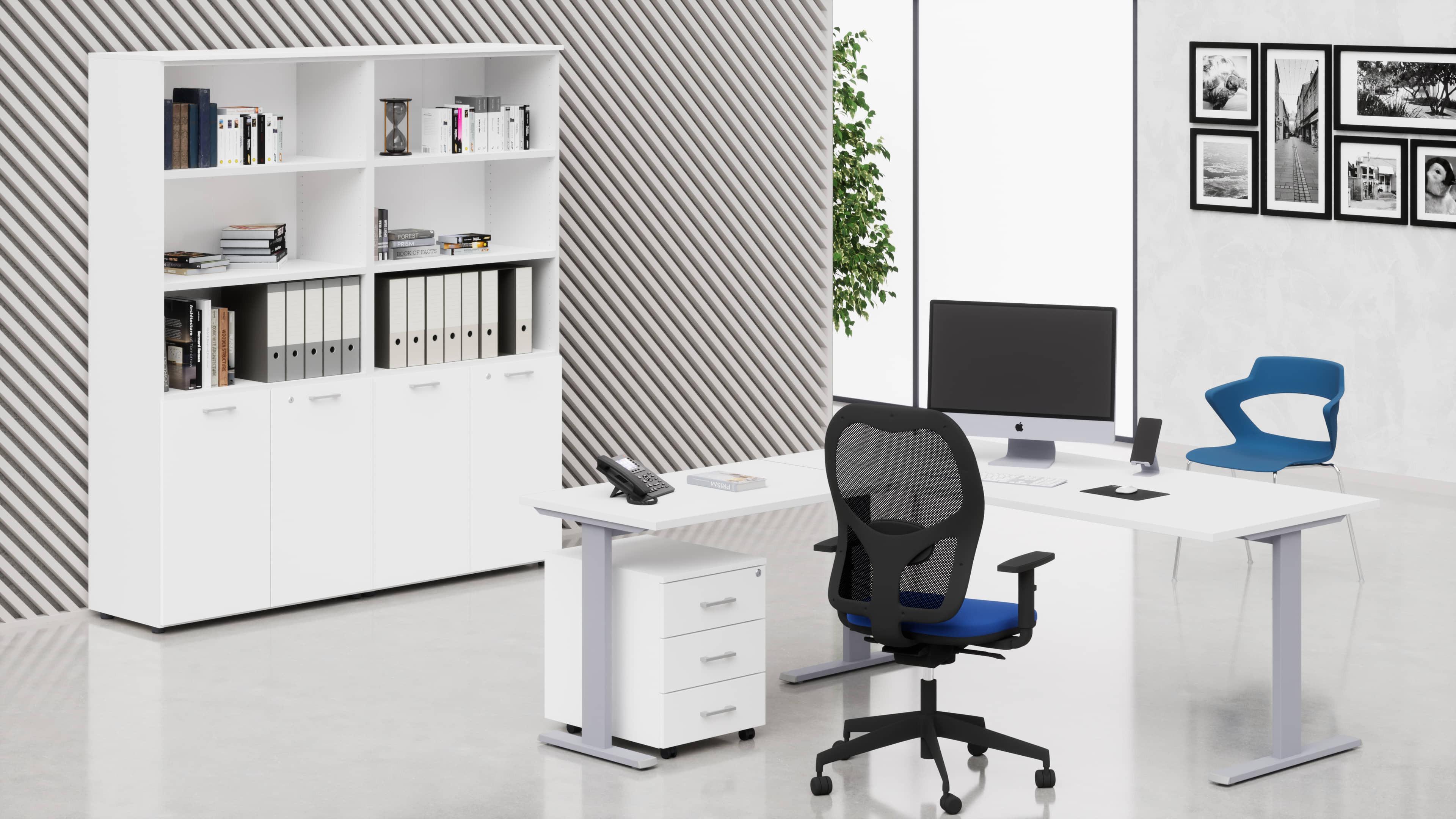 Cm031 uffici operativi completi da 655 34 fumustore for Mobili per ufficio online
