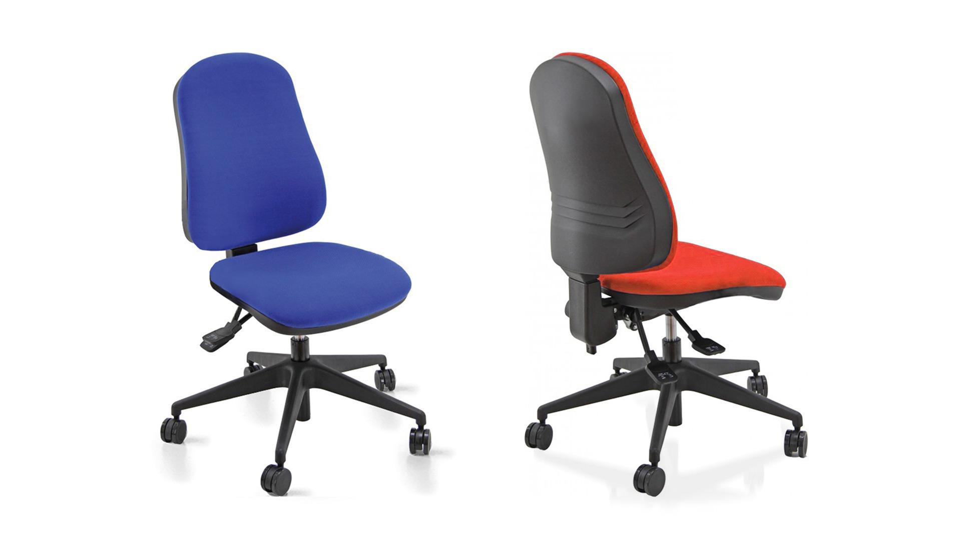 Sedia da ufficio girevole rivestimento in tessuto