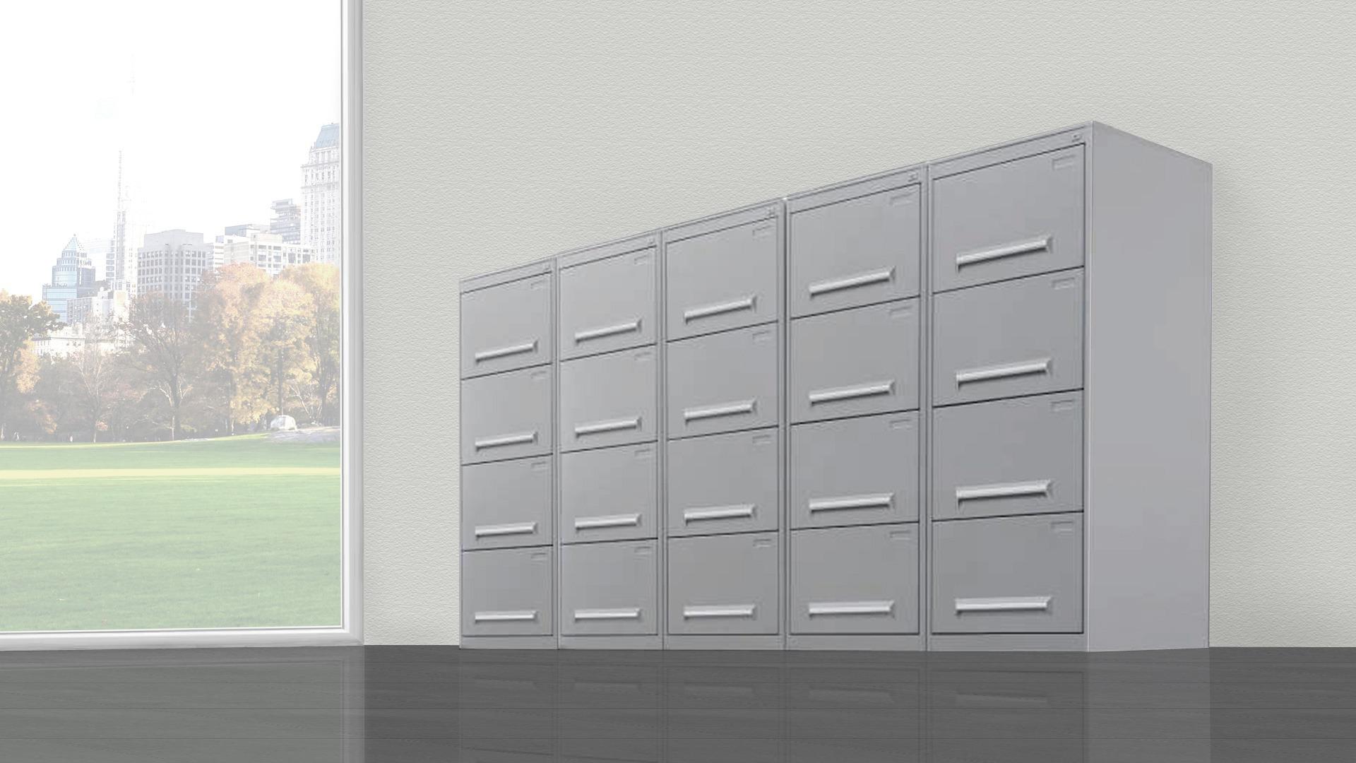 Cassettiere Metalliche Per Ufficio.M037 Classificatori E Cassettiere Metallici Da 295 00 Fumustore