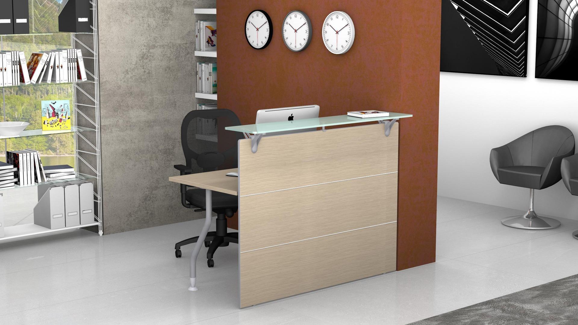 Reception bancone modulare lineare