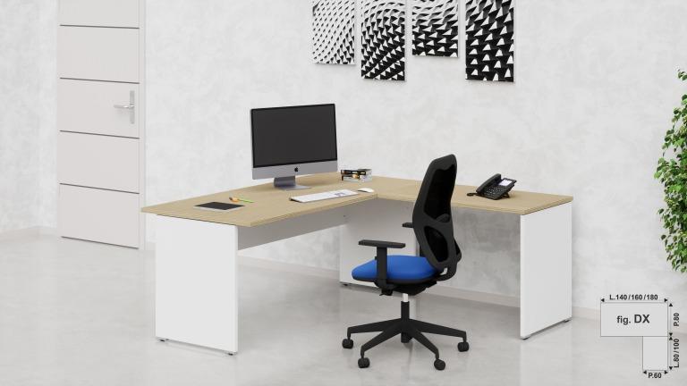 Vendita scrivanie operative per ufficio prezzi in offerta for Scrivanie in vendita