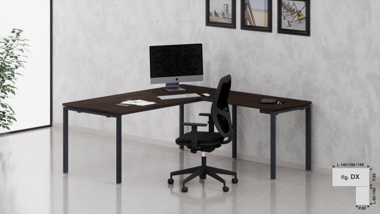 Scrivanie operative net ponte arredo ufficio fumustore for Scrivanie operative ufficio