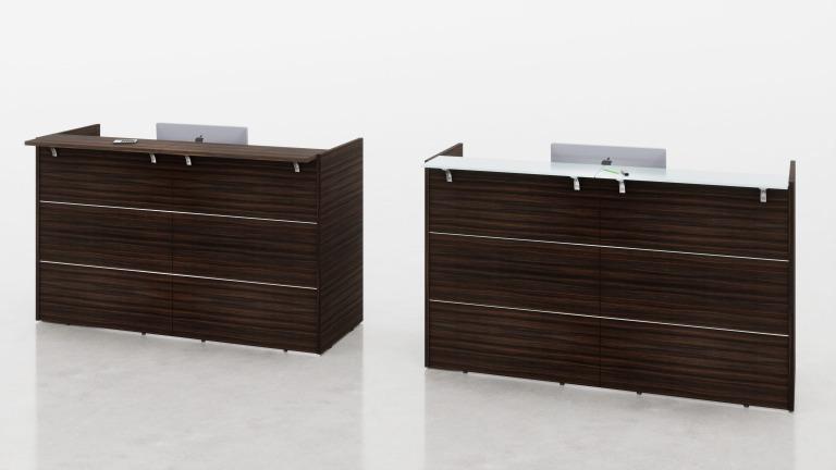 Mobili per reception arredo ufficio fumustore for Reception per ufficio