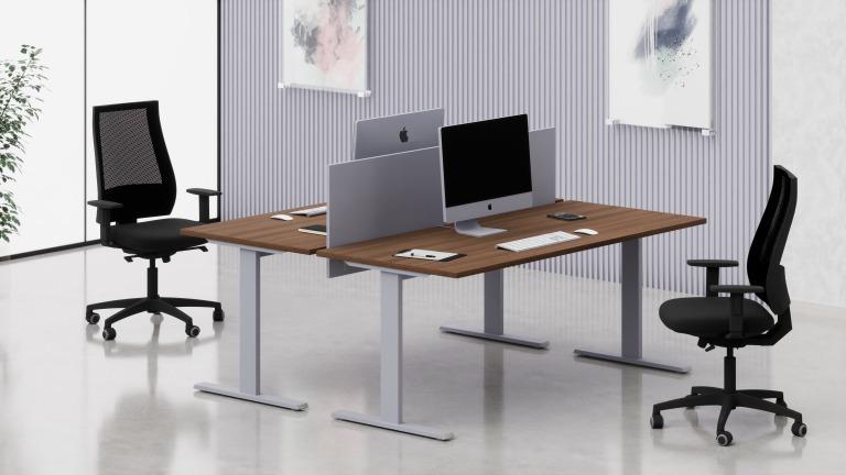Scrivanie operative net metallica arredo ufficio fumustore for Scrivanie operative ufficio